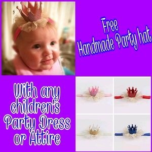 🛒FREE Adorable fancy birthday hats 1st birthday